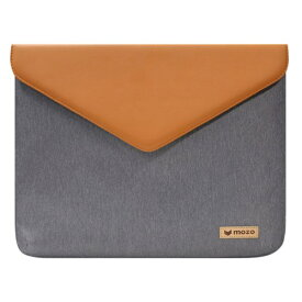MOZO モゾ ノートパソコン対応[11インチ] Laptop Envelope Pouch MZES11GB Gray with Brown[MZESF11GB]