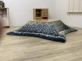 イケヒコ IKEHIKO 5544419 こたつ布団 リベラ グレー [対応天板サイズ:約80×120cm /長方形]