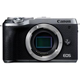 キヤノン CANON EOS M6 Mark II ミラーレス一眼カメラ シルバー [ボディ単体][EOSM6MK2SLBODY]