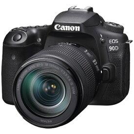 キヤノン CANON EOS 90D デジタル一眼レフカメラ 18-135 IS USM レンズキット [ズームレンズ][EOS90D18135ISUSMLK]