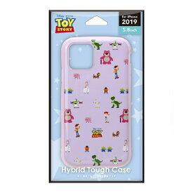 PGA iPhone 11 Pro 5.8インチ ハイブリッドタフケース トイ・ストーリー ピクセル PG-DPT19A03TOY