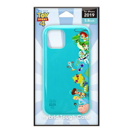 PGA iPhone 11 Pro 5.8インチ ハイブリッドタフケース  トイ・ストーリー POPアート PG-DPT19A04TOY