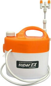 ダリヤ(マルハチ産業) 電池式噴霧器 (洗浄機能付) スーパーEX 3L (3段伸縮2頭口) 延長パイプ付 B-3300