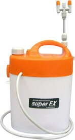 ダリヤ(マルハチ産業) 電池式噴霧器 (洗浄機能付) スーパーEX 5L (3段伸縮2頭口) 延長パイプ付 B-5500