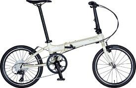 DAHON ダホン 20型 折りたたみ自転車 Vitesse D8 ヴィテッセ インターナショナルモデル フォールディングバイク(外装8段変速/ヴァニラ/アルミフレーム)【2019年モデル】 【代金引換配送不可】