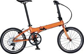 DAHON ダホン 20型 折りたたみ自転車 Vitesse D8 ヴィテッセ インターナショナルモデル フォールディングバイク(外装8段変速/アプリコット/アルミフレーム)【2019年モデル】 【代金引換配送不可】
