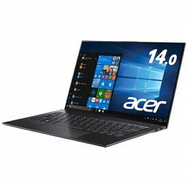 ACER エイサー ノートパソコン スターフィールドブラック SF714-52T-A76Y/K [14.0型 /intel Core i7 /SSD:512GB /メモリ:16GB /2019年9月モデル][SF71452TA76YK]
