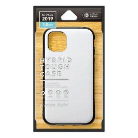 PGA iPhone 11 Pro 5.8インチ用 ハイブリッドタフケース ホワイト PG-19APT02WH