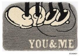 スミノエ SUMINOE 玄関マット ディズニー DMM-4064(50×80cm/グレー)