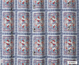 スミノエ SUMINOE ドレープカーテン ミッキー/ロイヤルガーデン(100×135cm)