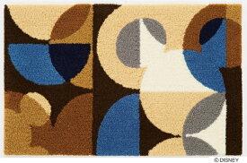 スミノエ SUMINOE 玄関マット ディズニー DMM-4041(50×80cm/ブルー)