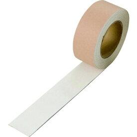 ユニット UNIT ユニット ユニラインテープ白 合成ゴム 50mm幅×5m巻 374-20 8156