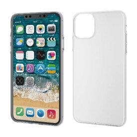 エレコム ELECOM iPhone 11 Pro Max 6.5インチ ソフトケース 薄型 クリア PM-A19DUCUCR
