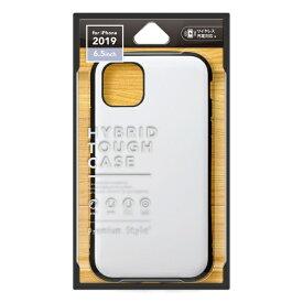 PGA iPhone 11 Pro Max 6.5インチ 用 ハイブリッドタフケース ホワイト PG-19CPT02WH