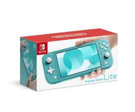 任天堂 Nintendo [おひとり様一台限り]Nintendo Switch Lite ターコイズ[ニンテンドースイッチ ライト 本体 ゲーム機本体]