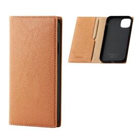 エレコム ELECOM iPhone 11 6.1インチ対応 ソフトレザーケース イタリアン(Coronet) オレンジスカッシュ PM-A19CPLFYILDR