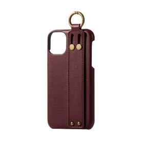 エレコム ELECOM iPhone 11 6.1インチ対応 ソフトレザーケース オープン イタリアン(Coronet) マッローネ PM-A19CPLOILBR