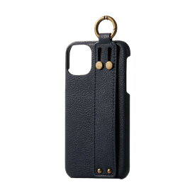 エレコム ELECOM iPhone 11 6.1インチ対応 ソフトレザーケース オープン イタリアン(Coronet) ロイヤルネイビー PM-A19CPLOILNV
