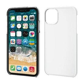 エレコム ELECOM iPhone 11 6.1インチ対応 ハードケース クリア PM-A19CPVCR