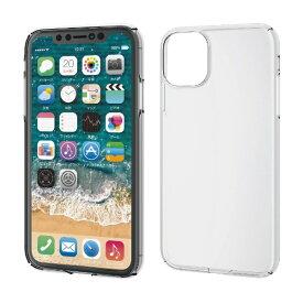 エレコム ELECOM iPhone 11 6.1インチ対応 ハードケース 極み クリア PM-A19CPVKCR