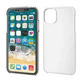 エレコム ELECOM iPhone 11 6.1インチ対応 ハードケース フレックス TR-90 クリア PM-A19CTRCR
