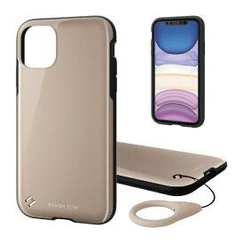 エレコム ELECOM iPhone 11 6.1インチ対応 TOUGH SLIM2 ベージュ PM-A19CTS2BE