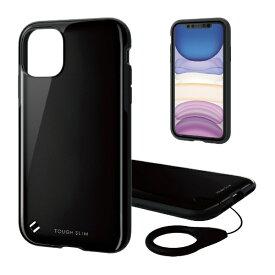 エレコム ELECOM iPhone 11 6.1インチ対応 TOUGH SLIM2 ブラック PM-A19CTS2BK