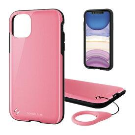 エレコム ELECOM iPhone 11 6.1インチ対応 TOUGH SLIM2 ピンク PM-A19CTS2PN