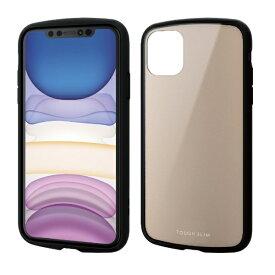 エレコム ELECOM iPhone 11 6.1インチ対応 TOUGH SLIM LITE ベージュ PM-A19CTSLBE