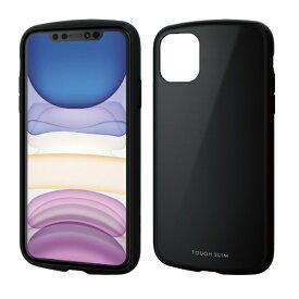エレコム ELECOM iPhone 11 6.1インチ対応 TOUGH SLIM LITE ブラック PM-A19CTSLBK
