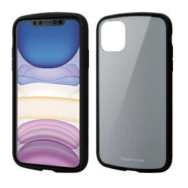 エレコム ELECOM iPhone 11 6.1インチ対応 TOUGH SLIM LITE グレー PM-A19CTSLGY