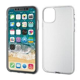 エレコム ELECOM iPhone 11 6.1インチ対応 ソフトケース フォルティモ 極み クリア PM-A19CUCT2CR