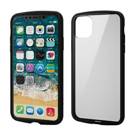 エレコム ELECOM iPhone 11 Pro Max 6.5インチ TOUGH SLIM LITE フレームカラー ブラック PM-A19DTSLFCBK