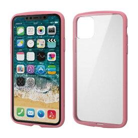 エレコム ELECOM iPhone 11 Pro Max 6.5インチ TOUGH SLIM LITE フレームカラー ピンク PM-A19DTSLFCPN