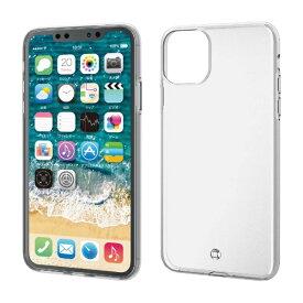 エレコム ELECOM iPhone 11 Pro Max 6.5インチ ソフトケース 極み ストラップホール付 クリア PM-A19DUCTSTCR