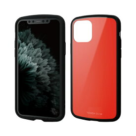 エレコム ELECOM iPhone 11 Pro 5.8インチ対応 TOUGH SLIM LITE レッド PM-A19BTSLRD