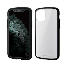 エレコム ELECOM iPhone 11 Pro 5.8インチ対応 TOUGH SLIM LITE ホワイト PM-A19BTSLWH