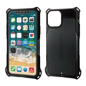 エレコム ELECOM iPhone 11 Pro 5.8インチ対応 ZEROSHOCK スタンダード ブラック PM-A19BZEROBK