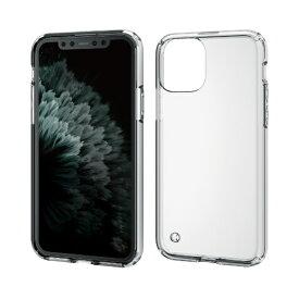 エレコム ELECOM iPhone 11 Pro 5.8インチ対応 ハイブリッドケース クリア PM-A19BHVCCR