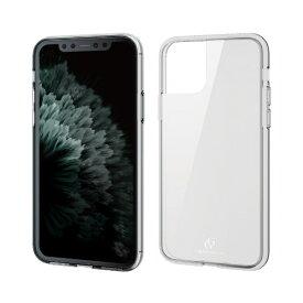 エレコム ELECOM iPhone 11 Pro 5.8インチ対応 ハイブリッドケース ガラス スタンダード クリア PM-A19BHVCG1CR