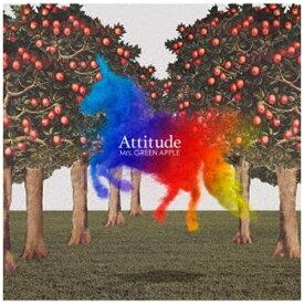 ユニバーサルミュージック Mrs.GREEN APPLE/ Attitude 通常盤【CD】