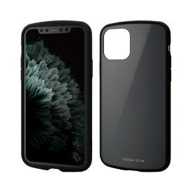 エレコム ELECOM iPhone 11 Pro 5.8インチ対応 TOUGH SLIM LITE ブラック PM-A19BTSLBK
