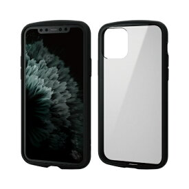 エレコム ELECOM iPhone 11 Pro 5.8インチ対応 TOUGH SLIM LITE フレームカラー ブラック PM-A19BTSLFCBK