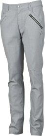 ルコック le coq メンズ ゴルフパンツ ストレッチミニグリッドシャンブレーロングパンツ(82サイズ/グレー) QGMOJD03