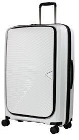 グリーンワークス GREEN WORKS ジッパースーツケース GRE2175-70WH ホワイト [90L]