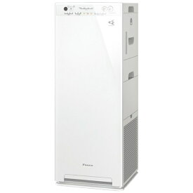 ダイキン DAIKIN 加湿空気清浄機 MCK55WBK-W ホワイト [適用畳数:25畳 /最大適用畳数(加湿):14畳 /PM2.5対応][MCK55WBK]【point_rb】