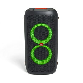 JBL ジェイビーエル ブルートゥーススピーカー ブラック JBLPARTYBOX100JN [Bluetooth対応][JBLPARTYBOX100JN]