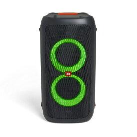 JBL ジェイビーエル ブルートゥーススピーカー JBLPARTYBOX100JN ブラック [Bluetooth対応][JBLPARTYBOX100JN]