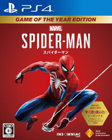 ソニーインタラクティブエンタテインメント Sony Interactive Entertainmen Marvel's Spider-Man Game of the Year Edition【PS4】