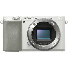 ソニー SONY ILCE-6100 W ミラーレス一眼カメラ α6100 ホワイト [ボディ単体][ILCE6100W]